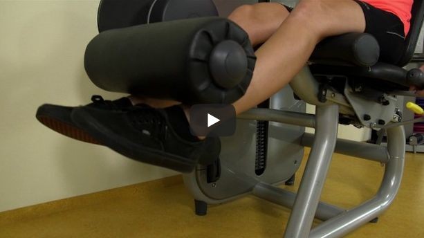 Sccreenshot video isotone leg extension