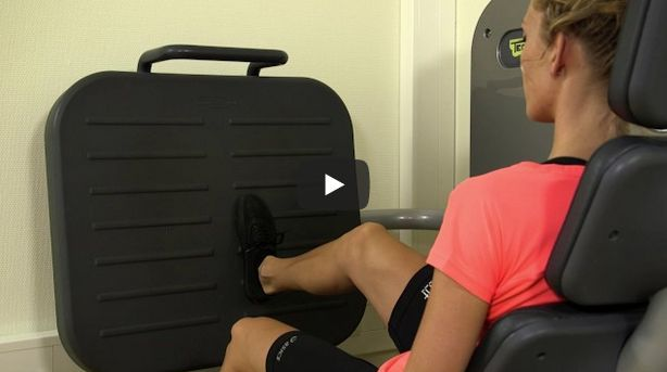 Screenshot video isotone leg press