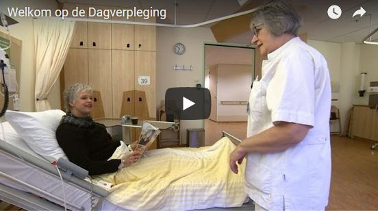 Screenshot video Welkom op de Dagverpleging