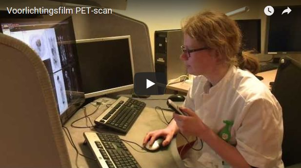 Video PET-scan onderzoek