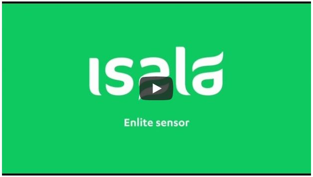 Screenshot video glucosesensor Enlite