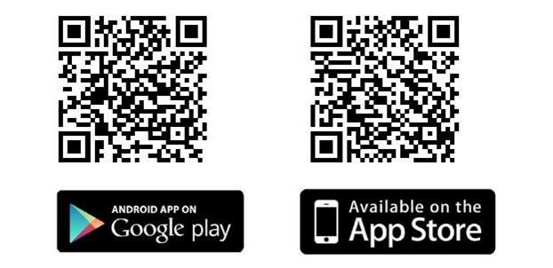 QR codes om mobilea-app te downloaden